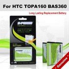 Premium Long Lasting Battery For HTC BAS360 BA-S360 TOPA160 Battery
