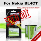 Premium Long Lasting Battery For Nokia BL4CT BL-4CT Battery