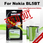 Premium Long Lasting Battery For Nokia BL5BT BL-5BT Battery