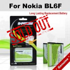 Premium Long Lasting Battery For Nokia BL6F BL-6F Battery