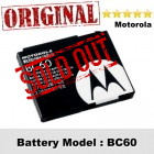 Original Motorola BC60 Battery