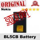 Original Nokia BL5CB BL-5CB Battery Nokia C1-01 C1-02 X2-05 Battery