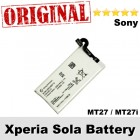 Original Sony Xperia Sola MT27 MT27i Battery Model AGPB009-A002
