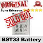 Original Sony Ericsson BST33 BST-33 Battery