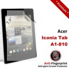 Premium Matte Anti-Fingerprint Acer Iconia Tab A1-810 Screen Protector