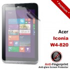 Premium Matte Anti-Fingerprint Acer Iconia W4-820 Screen Protector