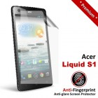 Premium Matte Anti-Fingerprint Acer Liquid S1 Screen Protector