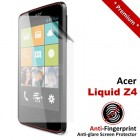 Premium Matte Anti-Fingerprint Acer Liquid Z4 Screen Protector