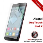 Premium Matte Anti-Fingerprint Alcatel OneTouch Idol X Screen Protector
