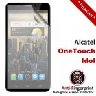 Premium Matte Anti-Fingerprint Alcatel OneTouch Idol Screen Protector