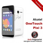 Premium Matte Anti-Fingerprint Alcatel OneTouch Pixi 3 Screen Protector