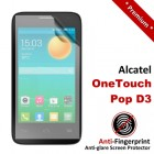 Premium Matte Anti-Fingerprint Alcatel OneTouch Pop D3 Screen Protector