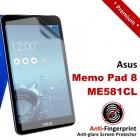 Premium Matte Anti-Fingerprint Asus Memo Pad 8 ME581CL Screen Protector