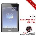 Premium Matte Anti-Fingerprint Asus Memo Pad HD 7 ME173X Screen Protector