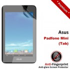 Premium Matte Anti-Fingerprint Asus Padfone Mini Tab Screen Protector