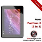 Premium Matte Anti-Fingerprint Asus Padfone S - 2-in-1 Screen Protector
