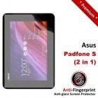 Premium Matte Anti-Fingerprint Asus Padfone S - 2-in-1 Screen Protector