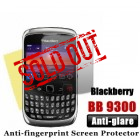 Professional Anti-glare Blackberry 9300 Screen Protector