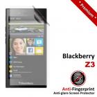Premium Matte Anti-Fingerprint Blackberry Z3 Screen Protector