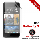 Premium Matte Anti-Fingerprint HTC Butterfly S Screen Protector