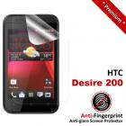 Premium Matte Anti-Fingerprint HTC Desire 200 Screen Protector