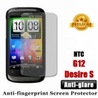 Premium Matte Anti-glare HTC Desire S G12 Screen Protector