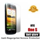 Premium Matte Anti-glare HTC One S Screen Protector