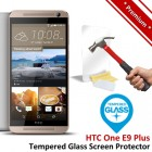 Premium HTC One E9 Plus Tempered Glass Screen Protector