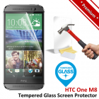 Premium HTC One M8 Tempered Glass Screen Protector