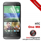 Premium Matte Anti-Fingerprint HTC One M8 Screen Protector