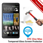 Premium HTC One Max Tempered Glass Screen Protector