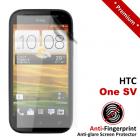 Premium Matte Anti-Fingerprint HTC One SV Screen Protector