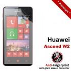 Premium Matte Anti-Fingerprint Huawei Ascend W2 Screen Protector