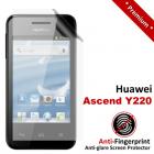 Premium Matte Anti-Fingerprint Huawei Ascend Y220 Screen Protector
