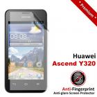 Premium Matte Anti-Fingerprint Huawei Ascend Y320 Screen Protector