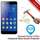 Premium Huawei Honor 6 Plus Tempered Glass Screen Protector