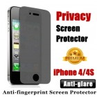 Premium Matte iPhone 4 4S Privacy Screen Protector