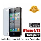 Premium Matte Antiglare iPhone 4 4S Screen Protector