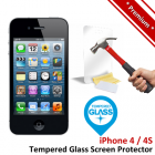 Premium Apple iPhone 4 4S Tempered Glass Screen Protector