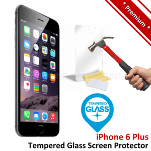Premium Apple iPhone 6 Plus Tempered Glass Screen Protector