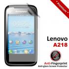 Premium Matte Anti-Fingerprint Lenovo A218 Screen Protector