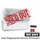 Professional Anti-glare Nokia C6 Screen Protector
