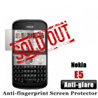 Professional Anti-glare Nokia E5 Screen Protector