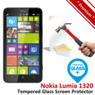 Premium Nokia Lumia 1320 Tempered Glass Screen Protector