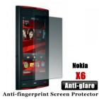 Professional Anti-glare Nokia X6 Screen Protector