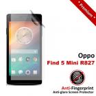 Premium Matte Anti-Fingerprint Oppo Find 5 Mini R827 Screen Protector