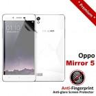 Premium Matte Anti-Fingerprint Oppo Mirror 5 Screen Protector