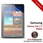Premium Matte Anti-Fingerprint Samsung Galaxy Tab 7.7 P6800 Screen Protector