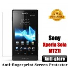 Premium Matte Anti-glare Sony Xperia Sola MT27I Screen Protector