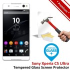 Premium Sony Xperia C5 Ultra Tempered Glass Screen Protector